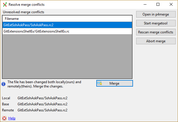 Configuring Git Diff And Merge Tool (p4merge For Mac