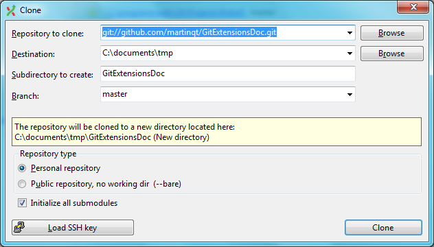 Getting Started — GitExtensions 2 51 05 documentation